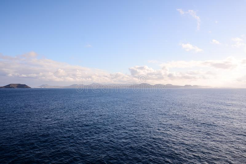 Picture View Landscape. Picture View of La Gomera in the Canary Islands stock photography