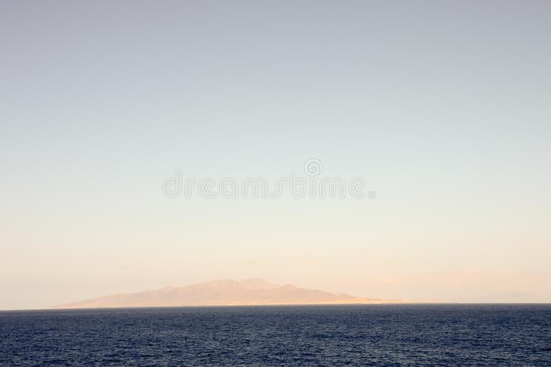 Picture View Landscape. Picture View of Lanzrote in the Canary Islands stock images