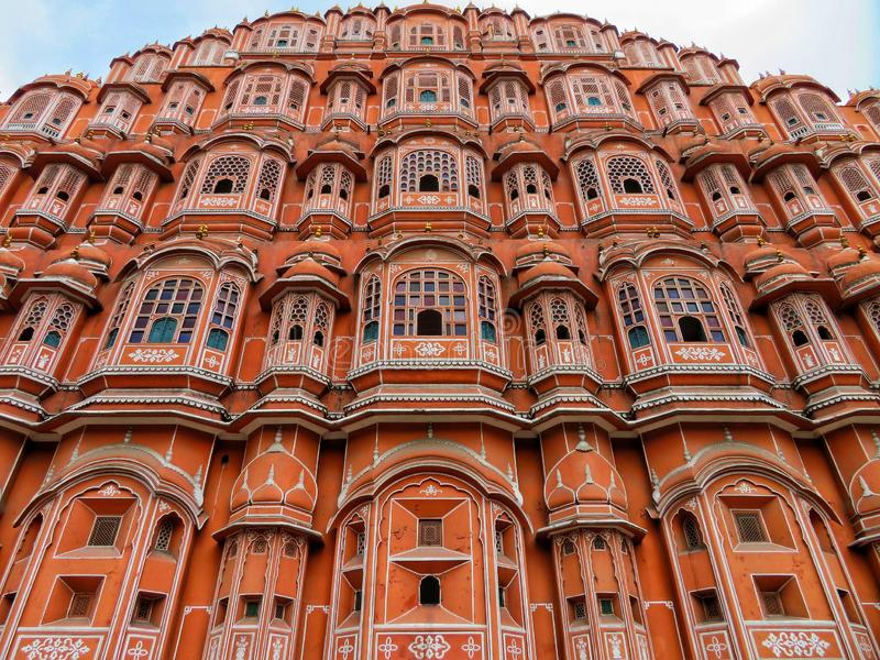 Pure Indian architecture have a meaning always. stock photo