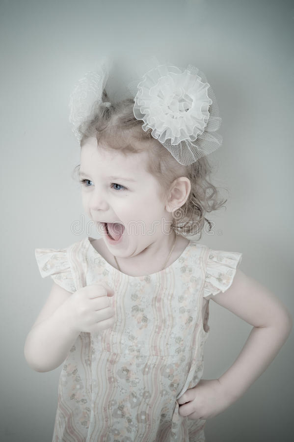 Download Picture Of Young Smiling Little Girl Royalty Free Stock Photography - Image: 12199537