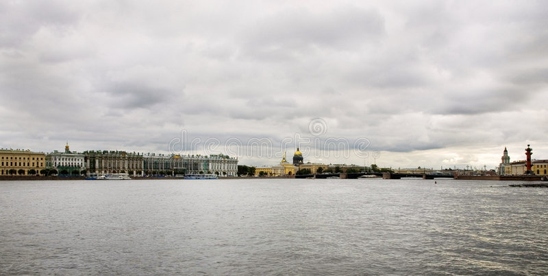 Pictureof St Petersburg photo stock