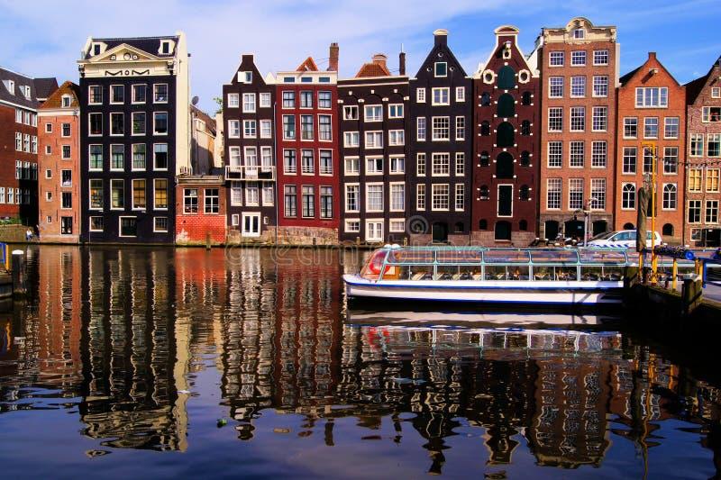 Picturesque Amsterdam Stock Photo
