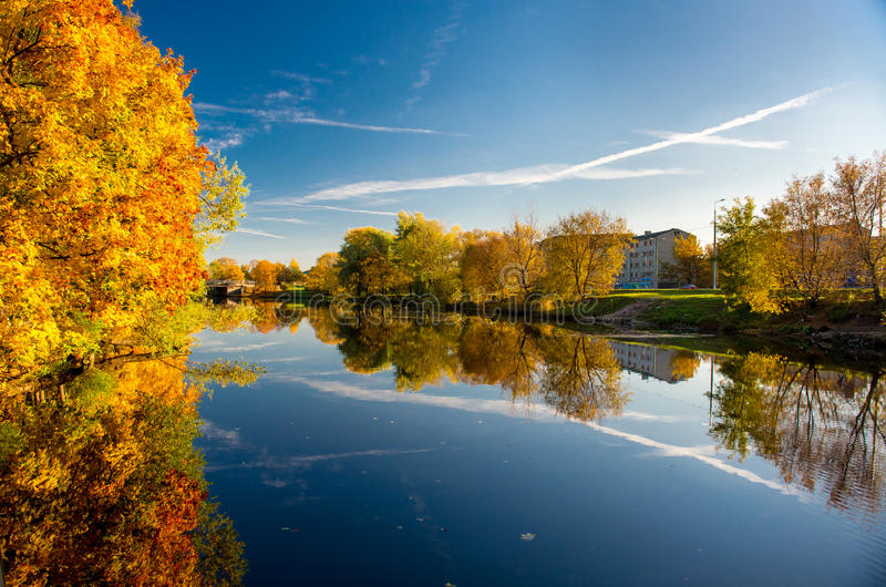 Download Picturesque Autumn Landscape Stock Photo - Image: 34388500