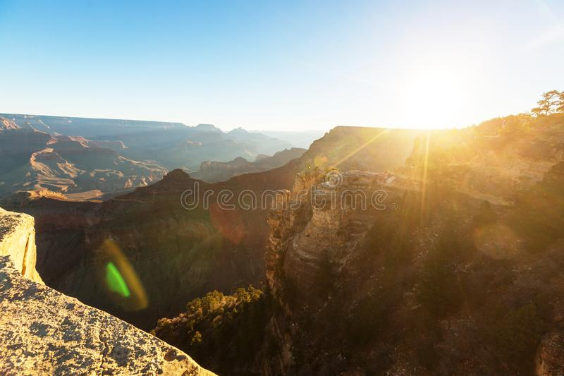 Grand Canyon. Picturesque landscapes of the Grand Canyon royalty free stock photography