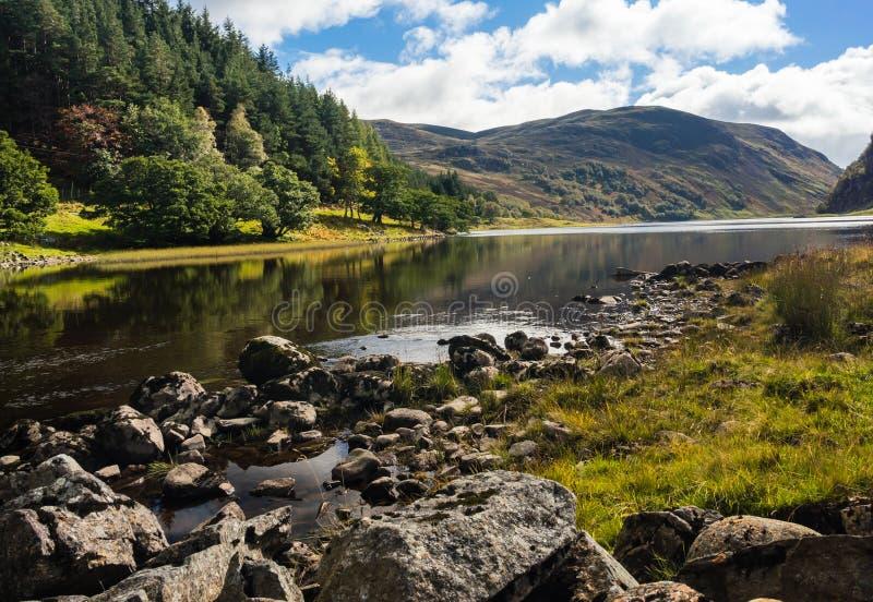 Picturesque Loch Killin, Scottish Highlands, UK royalty free stock photos