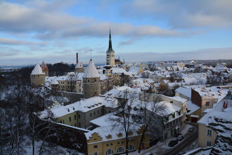 Tallinn Medieval Old Town Estonia royalty free stock photography