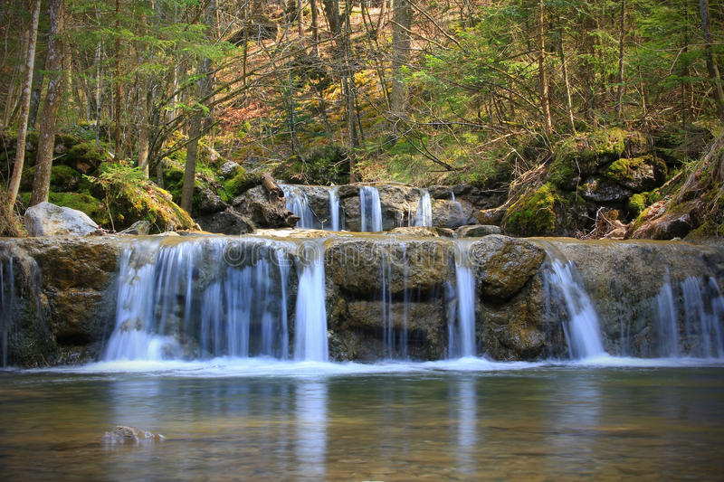 Picturesque mountain Creek, germany. Picturesque mountain Creek, german landscape royalty free stock photography