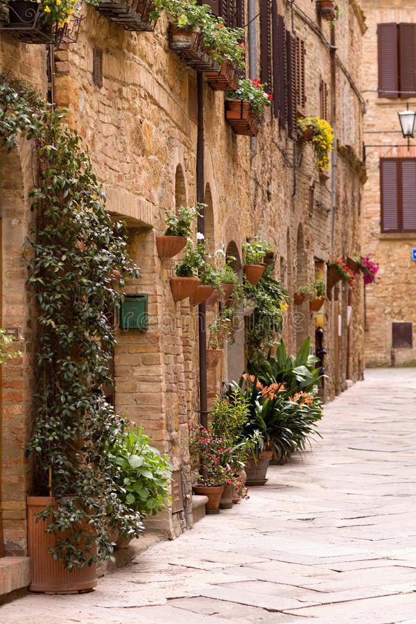 Picturesque nook of Tuscany. Beautiful picturesque nook of rural Tuscany stock images