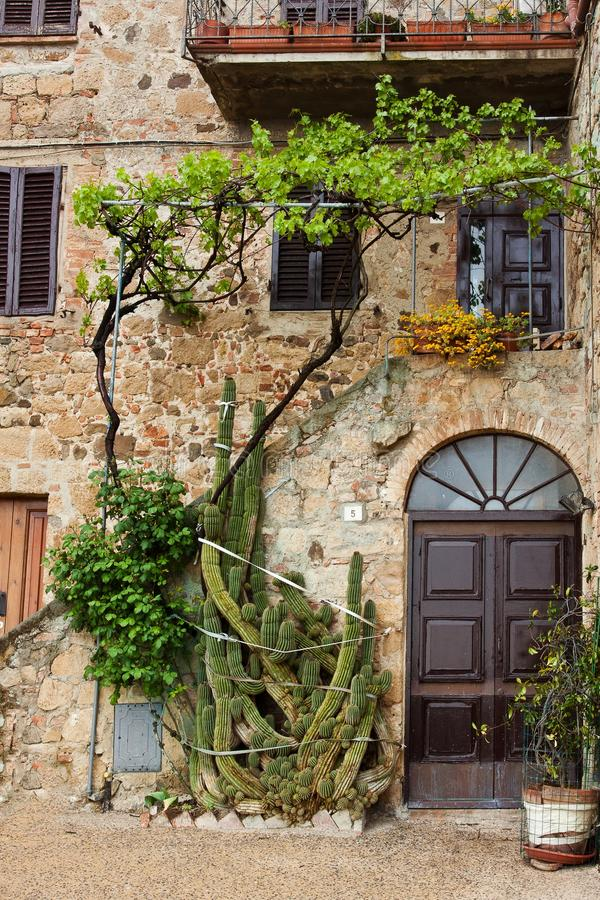 Picturesque nook of Tuscany. Beautiful picturesque nook of rural Tuscany stock photos