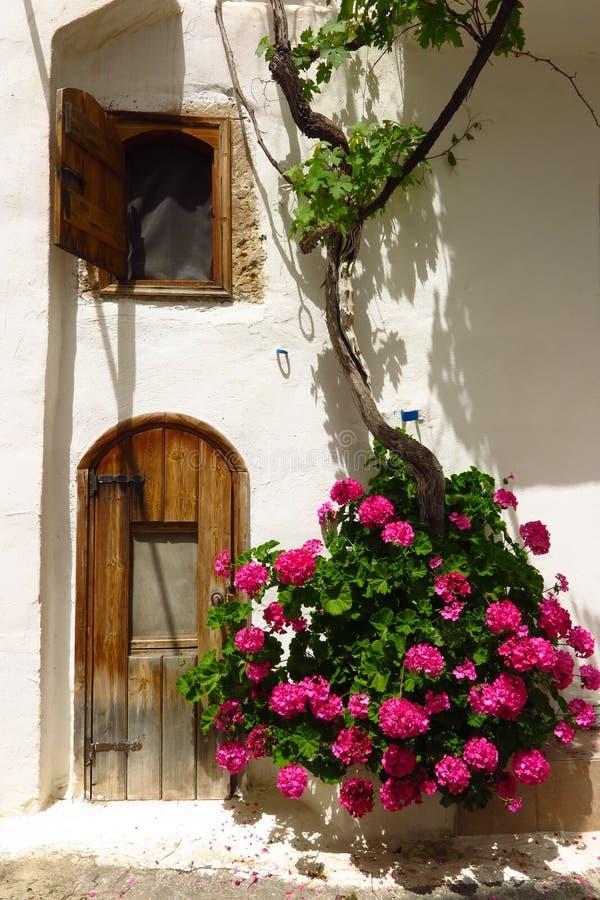 Free Picturesque Old Doorway In Kritsa Village, Crete, Greece Royalty Free Stock Image - 101017496
