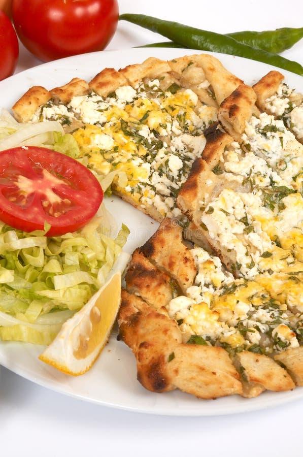 Download Pide del queso foto de archivo. Imagen de placa, hambriento - 1294338