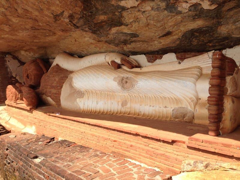 Pidurangala forntida Forest Monastery arkivbilder