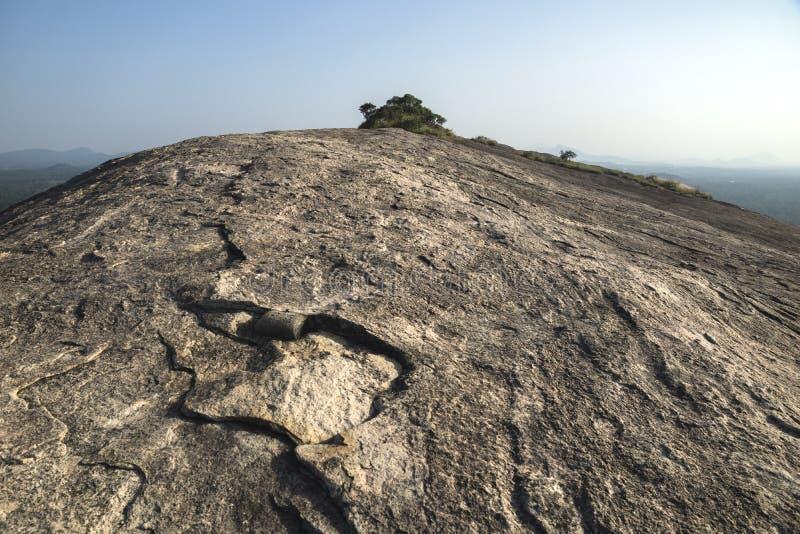 Pidurangala Rock, Sri Lanka stock photos