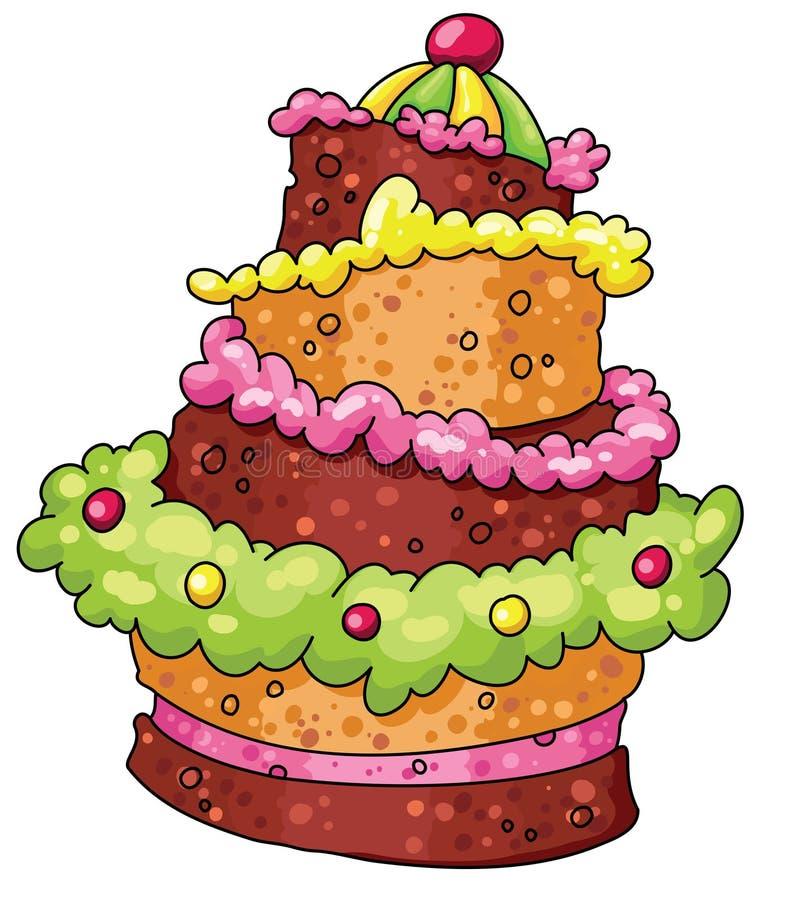 Download Pie stock vector. Image of dessert, celebrate, ingredients - 14374032