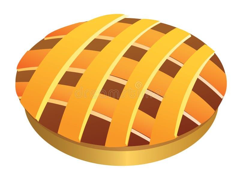 Pie royalty free illustration
