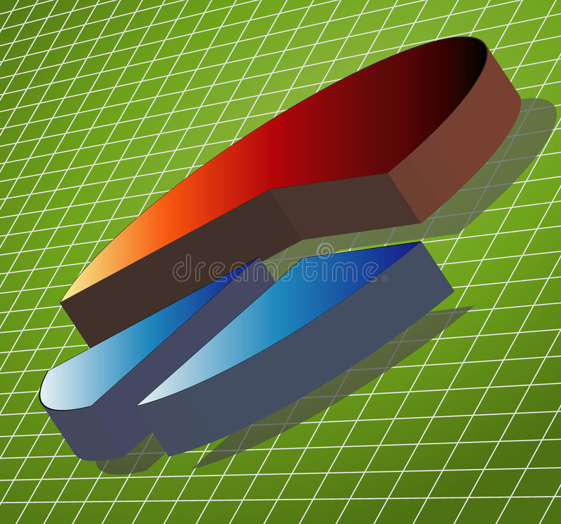 Download Pie Chart stock illustration. Illustration of clipart, positive - 502059