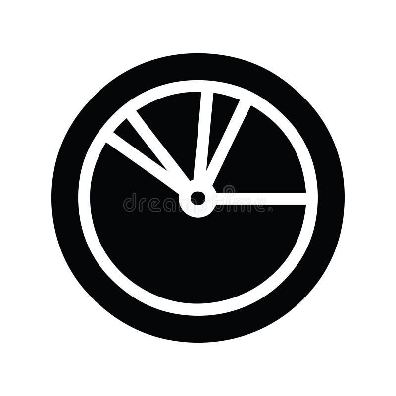Pie chart icon symbol. Illustrated pie chart icon symbol vector illustration