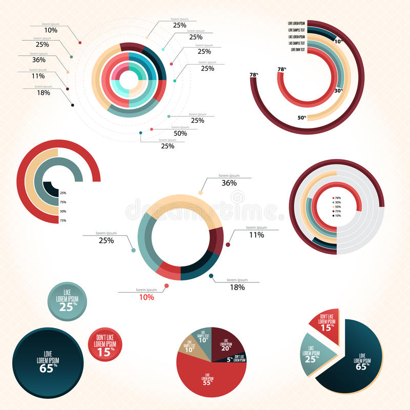 Download Pie Chart Style Stock Vector - Image: 40003529
