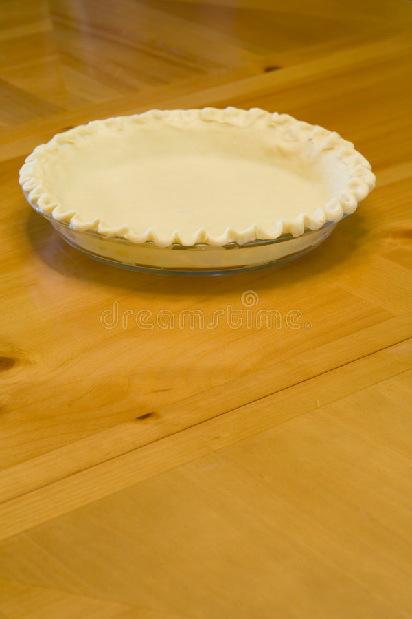 Download Pie Crust stock photo. Image of plate, dish, empty, uncooked - 1857204