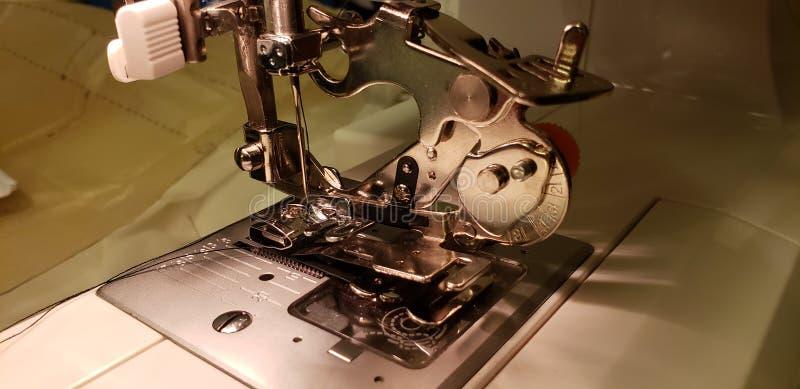 Pie de la reunión de la máquina de coser imagen de archivo libre de regalías