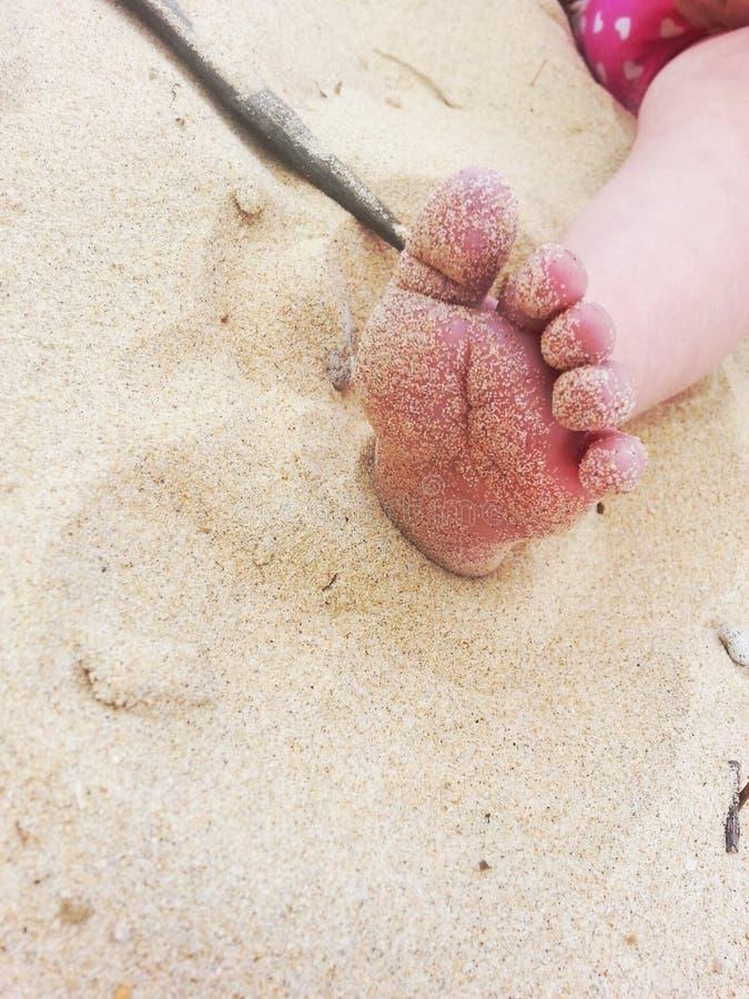 Pie del bebé foto de archivo