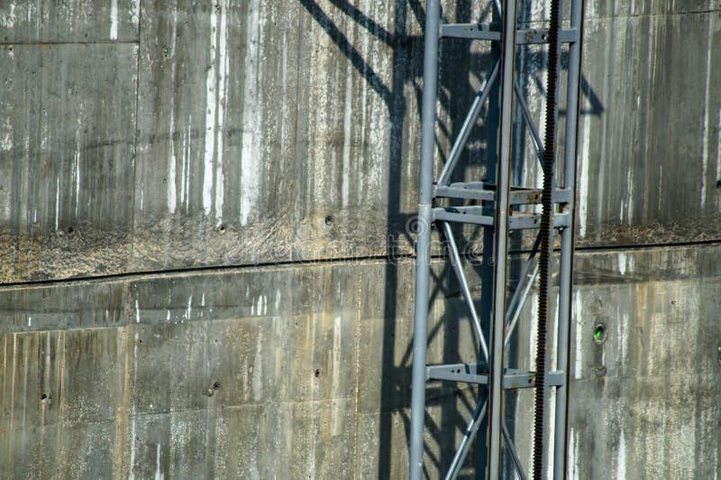 Pie del puente de la manera del elevador imagenes de archivo
