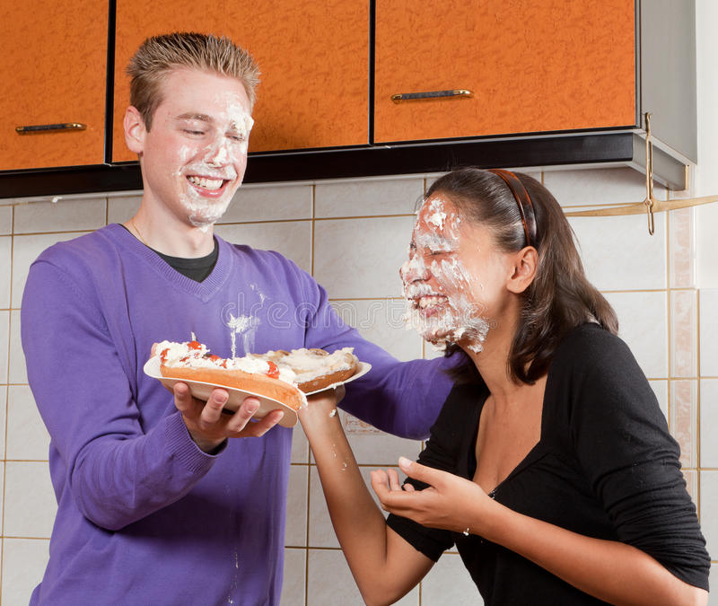 Pie fight