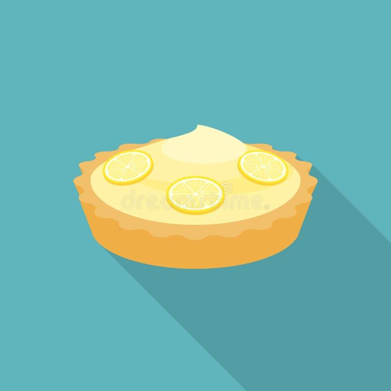 Pie lemon stock illustration