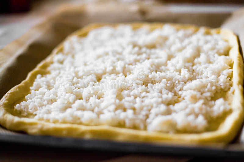 Pie With Rice Royalty Free Stock Images