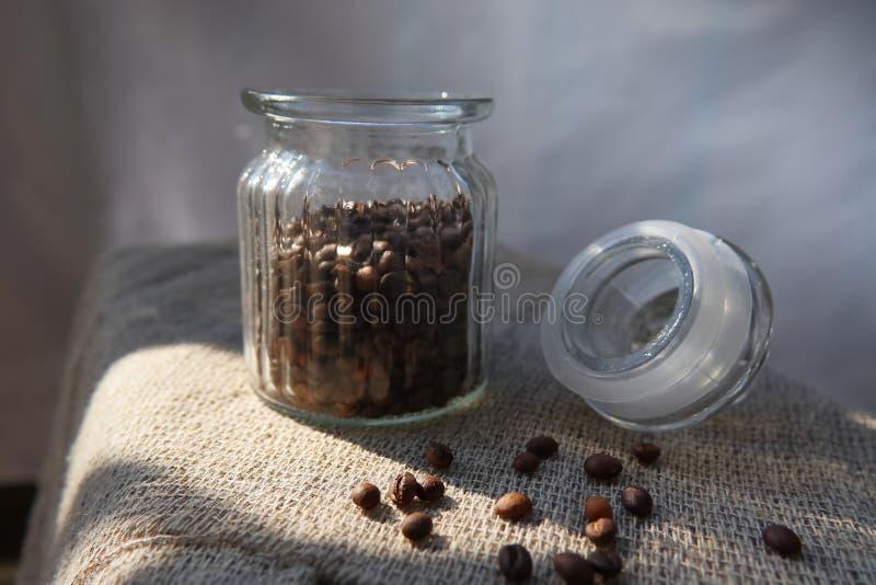 Piec adra naturalna aromatyczna kawa obrazy royalty free
