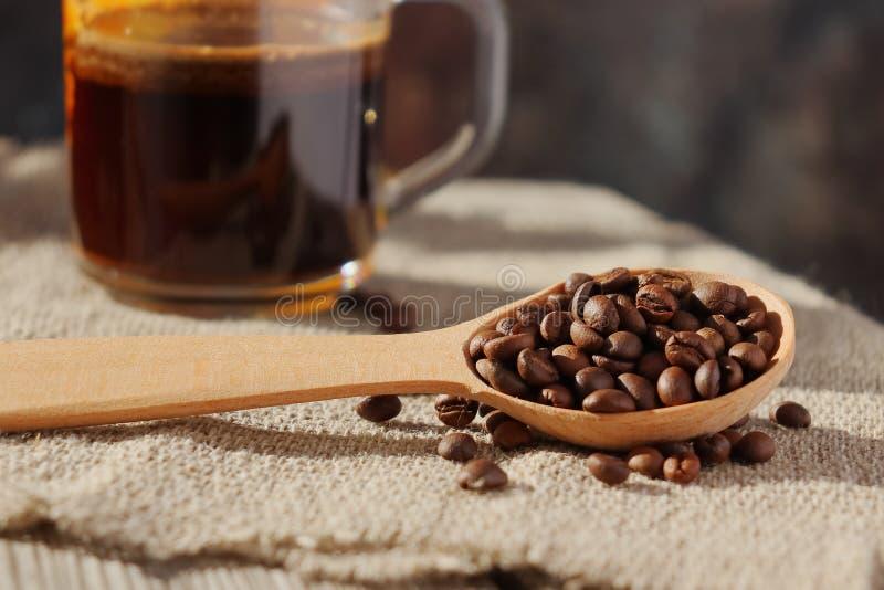 Piec adra naturalna fragrant kawa zdjęcie royalty free