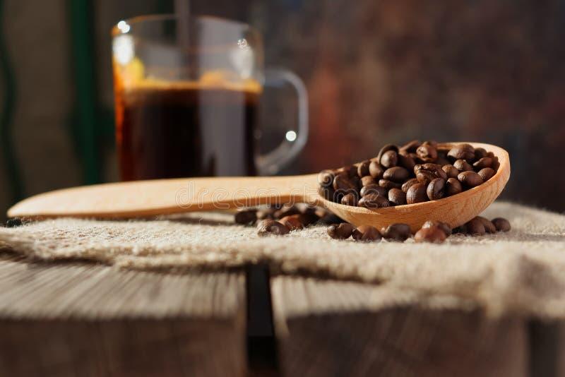 Piec adra naturalna fragrant kawa obraz royalty free