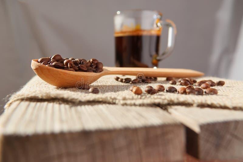Piec adra naturalna fragrant kawa obrazy royalty free