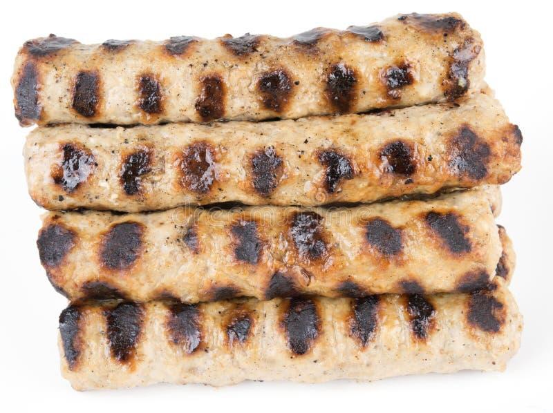 Piec Bułgarski mięsnych piłek kebapche zdjęcie royalty free