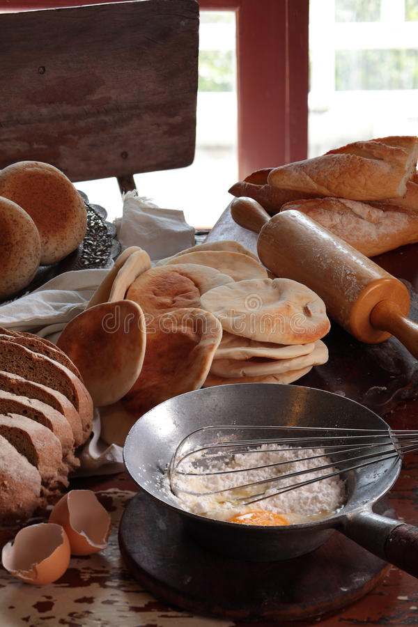 piec chleb obraz royalty free