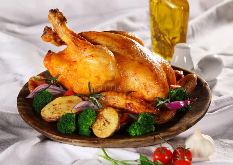 Piec kurczak obraz stock
