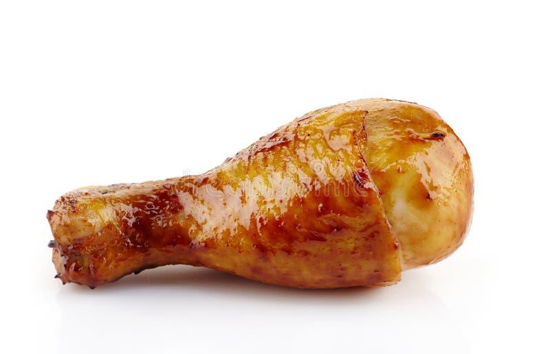 Piec kurczak noga obraz royalty free