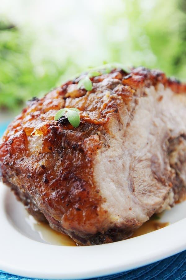 Piec mięso zdjęcie stock