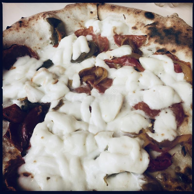 Piec mozzarelli pizza obrazy stock