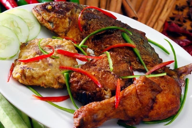 piec na grillu Asia jedzenie obrazy royalty free