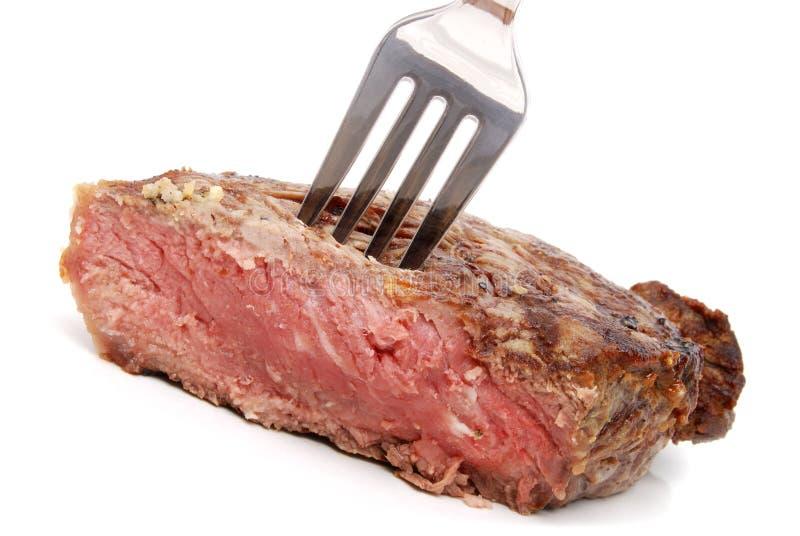 piec na grillu stek zdjęcia stock