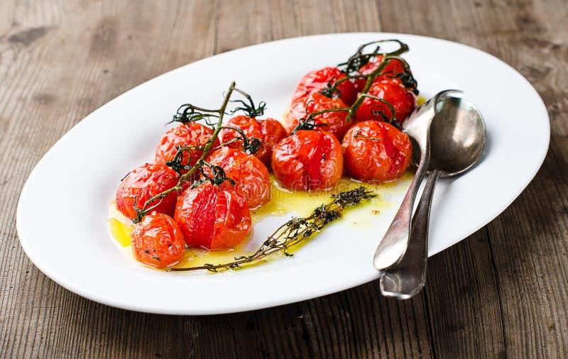 Piec pomidory zdjęcie royalty free