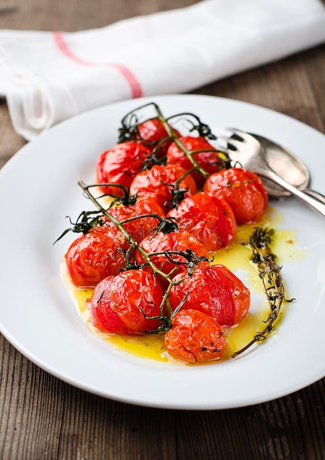 Piec pomidory zdjęcia royalty free