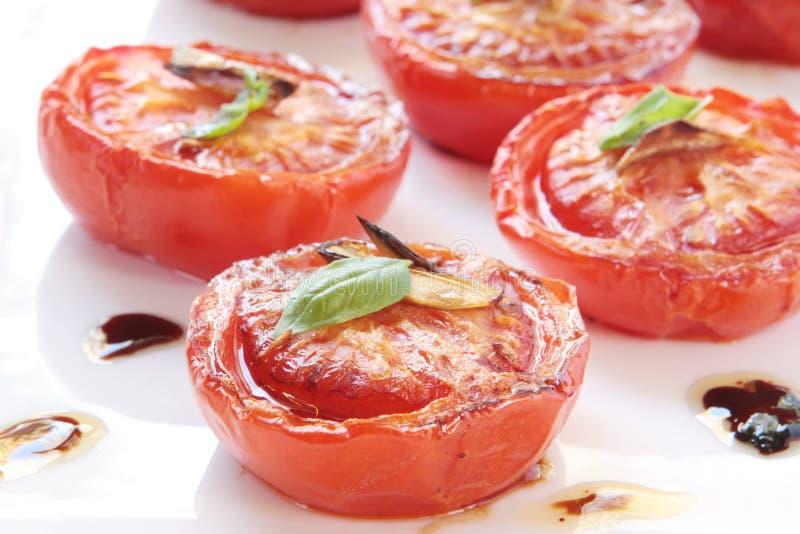 piec wolnych pomidorów zdjęcia stock