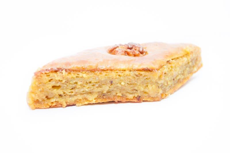 Piece of armenian cake stock image