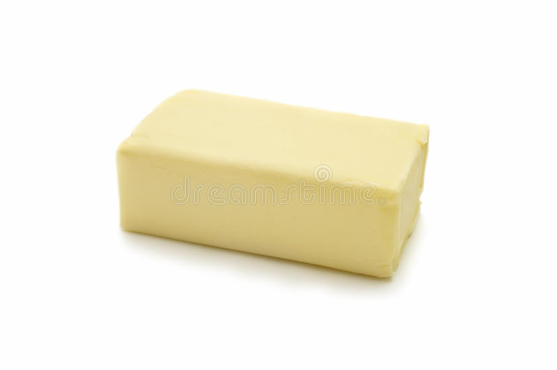 Piece of butter stock photography