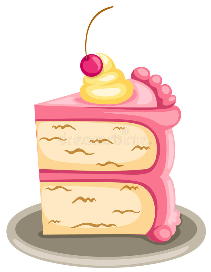 piece of cake stock vector illustration of fruit graphic 13640518 rh dreamstime com piece of cake clipart piece of cake free clipart