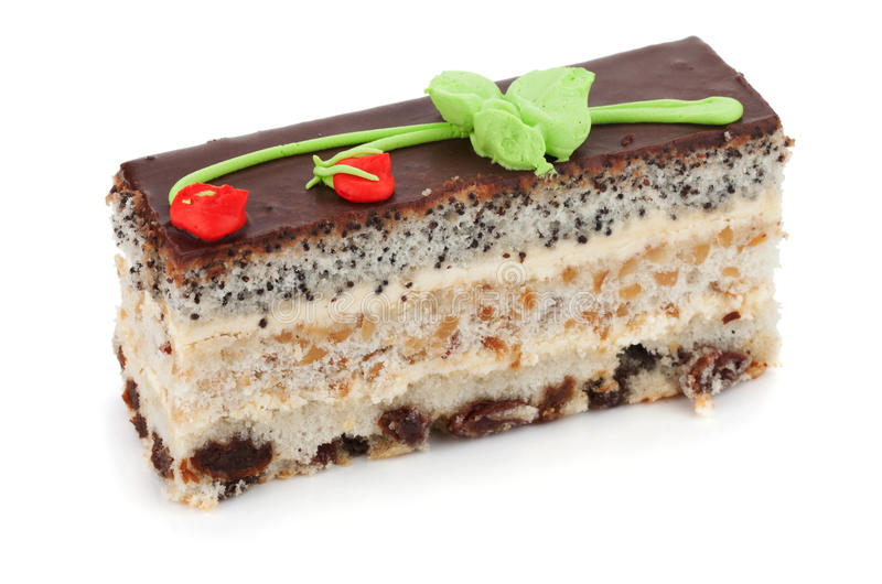 Download Piece of cake stock photo. Image of fancy, treat, slice - 22319558