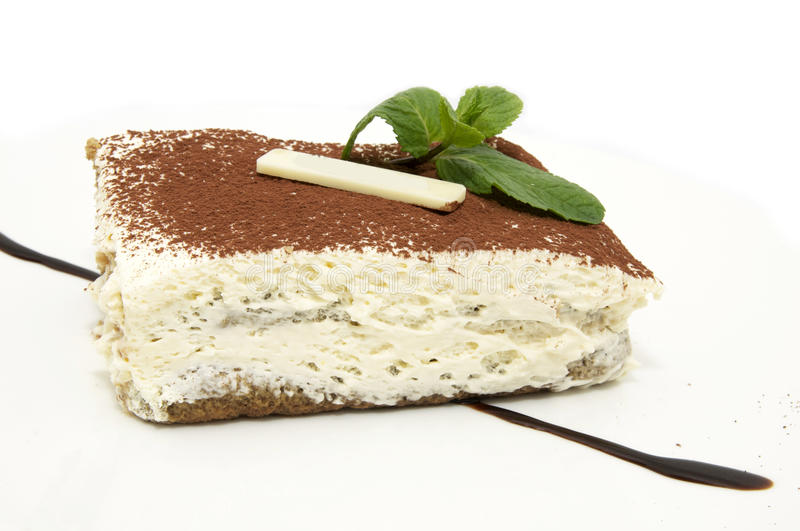 Download Piece of cake stock photo. Image of full, brown, single - 23876318