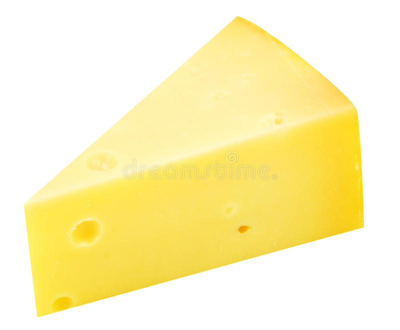 Piece of cheese stock images